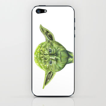 Yoda - Try iPhone & iPod Skin by Susaleena