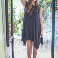 Boho Summer Sundress in Black