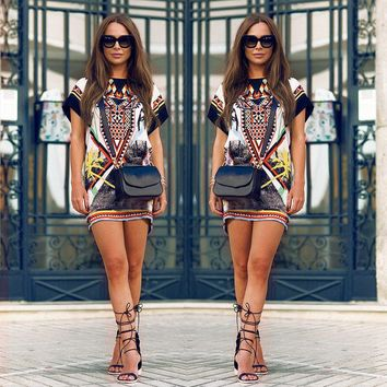 African Printed T-shirt