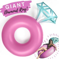Diamond Ring Pool Float
