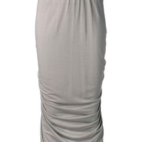 Rick Owens Lilies draped long skirt