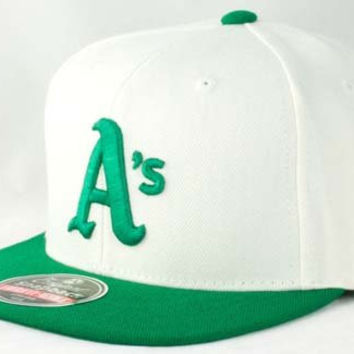Oakland Athletics Wool Baseball Cap By American Needle