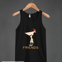 Best Summer (Friends)-Unisex Black Tank
