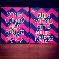 Proverbs 3125 Canvas Painting by TheEsperanzaShoppe on Etsy