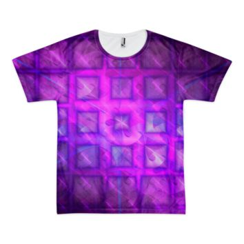 Shiny Square Buttons || Short sleeve men's t-shirt (unisex) — Future Life Fashion