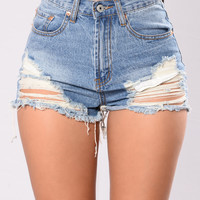 Max Boyfriend Shorts - Dark