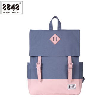 Travel Backpack For Women 8848 Famous Brand Backpacking School College Student Stylish Fashion Shoulder Bag Hasp 173-002-015