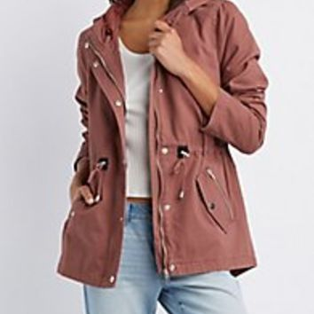Anorak Jackets & Parka Jackets for Women| Charlotte Russe