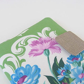 Kindle Fire Cover Nook Simple Touch Cover iPad Mini Cover Kobo Cover Case Sis Boom Nicole Mod Girls Green eReader