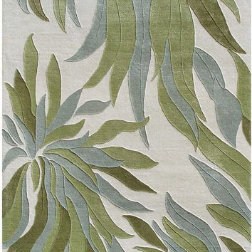 Rug Market Closeout Whisper Leaves