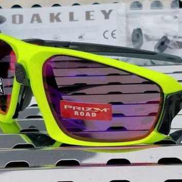 Gotopfashion New Oakley FIELD JACKET 9402-0564 Sunglasses Retina Burn-Charcoal w/Prizm Road