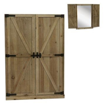 Crystal Art Gallery Barn Door Wall Mirror | Nordstrom