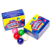 Dubble Bubble Assorted Gumballs Packs: 15-Piece Bag