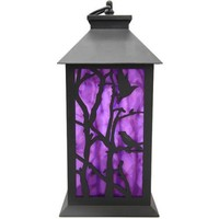 Halloween Holographic LED Lantern, Crow Halloween Decoration - Walmart.com