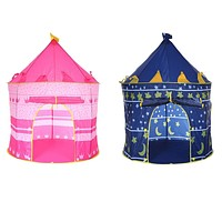 Fun Indoor and Outdoor Castle Play Tent