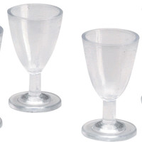 wine glasses timeless miniatures - 4 ct