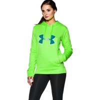 Under Armour Women's Big Logo Applique Twist Printed Hoodie