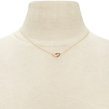 Linked Heart Choker