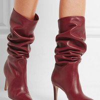 Gianvito Rossi - Leather knee boots
