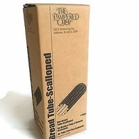 PAMPERED CHEF BREAD TUBE - SCALLOPED shaped bread tube baking supply gift