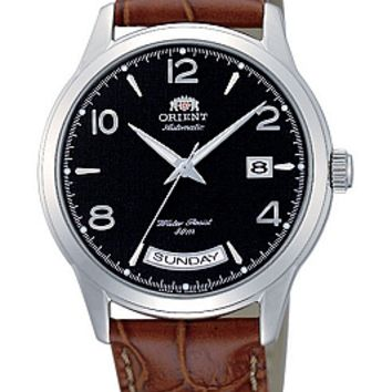 Orient Men's Wide Calendar Automatic Watch CEV09002B