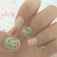 wallpaper nails