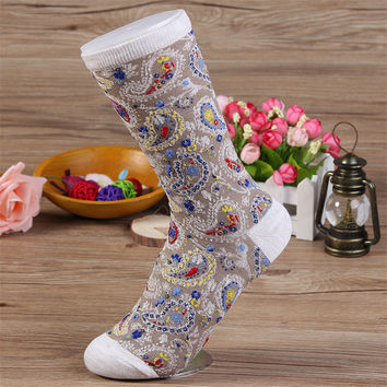 Women's socks 2014 new winter fashion trend cool casual cotton jacquard socks Japanese wild personality tube socks  warm  socks