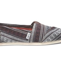 Toms Shoes Classics (Black Nepal Weave) Shoes Womens Shoes at 7TWENTY Boardshop, Inc