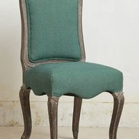 Linen Beatrix Dining Chair by Anthropologie