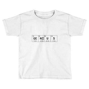 periodic table genius Toddler T-shirt