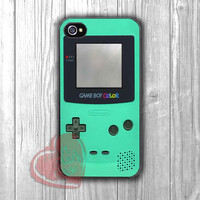 Mint Green Gameboy Color -srrw for iPhone 4/4S/5/5S/5C/6/ 6+,samsung S3/S4/S5,samsung note 3/4