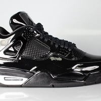 Air Jordan Men's 11Lab4 Black Patent Leather