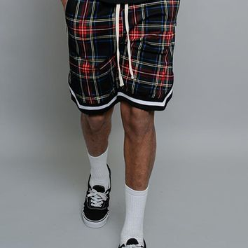 Plaid Basketball Shorts JS23 - A7C