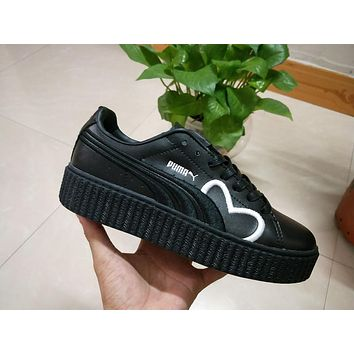 Puma Fenty CLF Creeper Black Women Shoes
