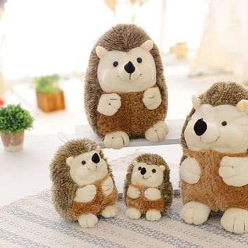 large simulation of hedgehog animal doll Toys ForHoliday gifts high quality Plush doll