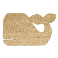 ModCloth Nautical Whale-come Home Doormat