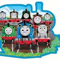 Thomas & Friends: Sodor Friends - 24 Piece Shaped Floor Puzzle
