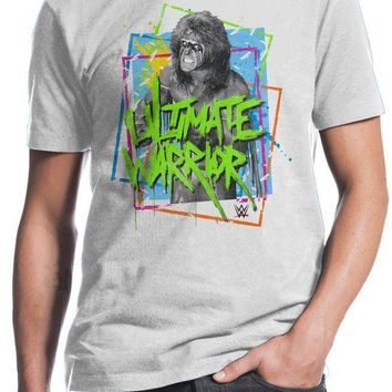 WWE Wrestling LEGEND ULTIMATE WARRIOR T-Shirt NWT Licensed & Official
