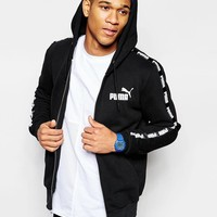Puma | Puma Hoodie With Taping at ASOS