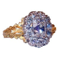 1STDIBS.COM Jewelry & Watches - Extraordinary Early Victorian Diamond Cluster Ring - Moylan-Smelkinson/The Spare Room