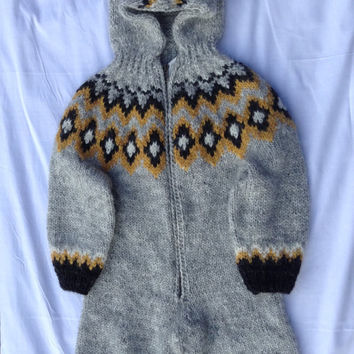 Ready to ship, baby clothing,  overall, children, kids fall, handmade, icelandic wool, kids winter, warm clothing,  baby winter clothes