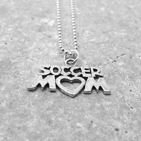 Soccer Mom Necklace, Sterling Silver