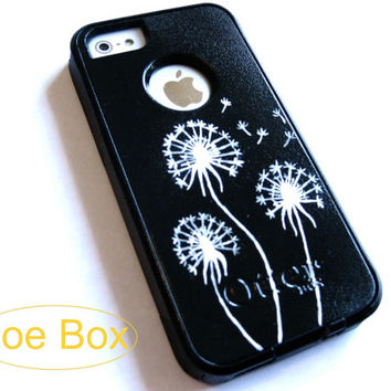 OTTERBOX iphone 5 case, case cover iphone 5 otterbox ,iphone 5 otterbox case,custom otterbox iPhone 5/5s, otterbox, dandelion otterbox case