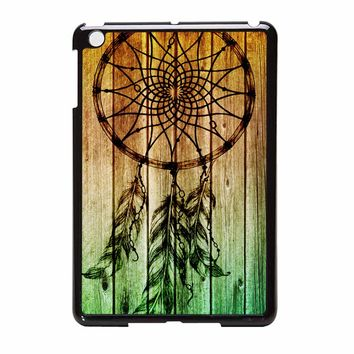 Dream Catcher Wood Case822 iPad Mini Case