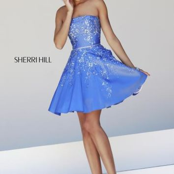 Beautiful 2014 Sherri Hill Short Homecoming Dress 21362