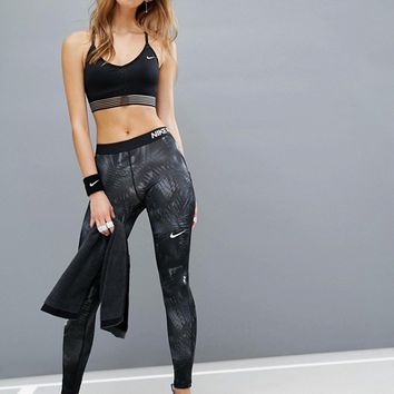 Nike Pro Indy Strappy Bra at asos.com