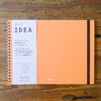EDiT Ideation Notebook Apricot Orange
