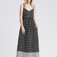 Banana Republic Womens Ikat Patio Dress