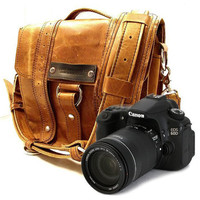 Camera Safari Bag Serengeti Full Grain by CopperRiverBags