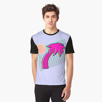 'Cali Aesthetics' Graphic T-Shirt by ChessJess